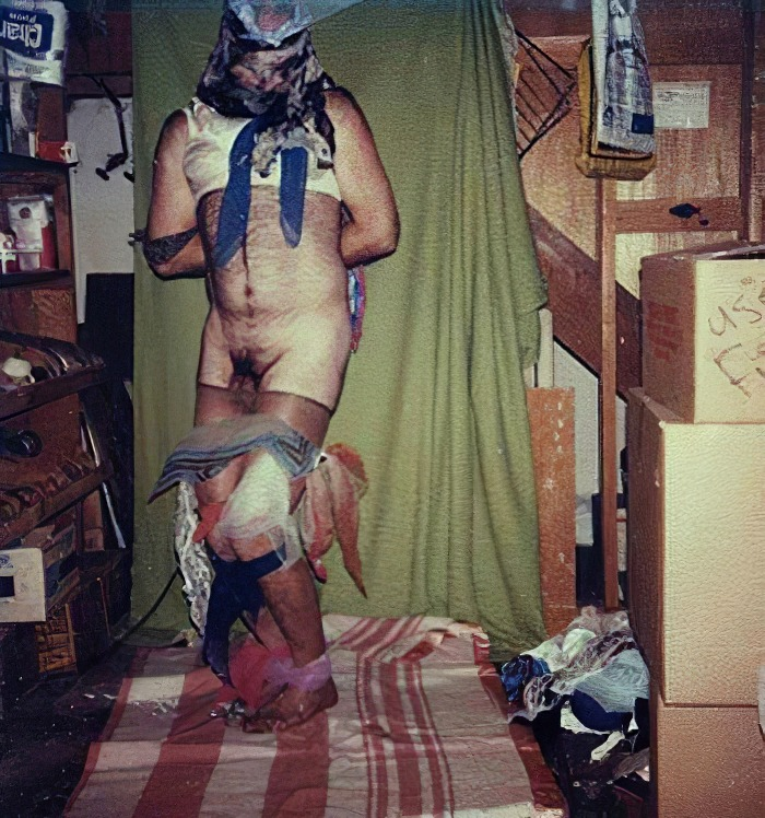dennis-raded-self-bondage-12 A Macabre Collection of Self-Bondage Shots by the BTK Killer
