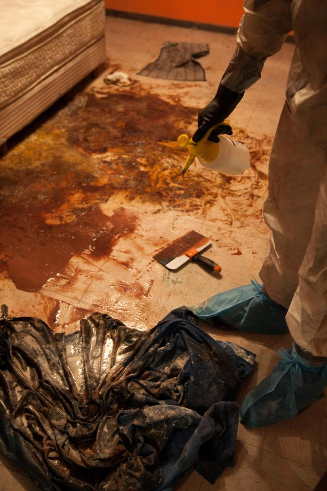 The Shocking Reality of Crime Scene Cleanup