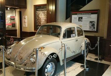 A Fascinating Look Inside Ted Bundy's VW Beetle