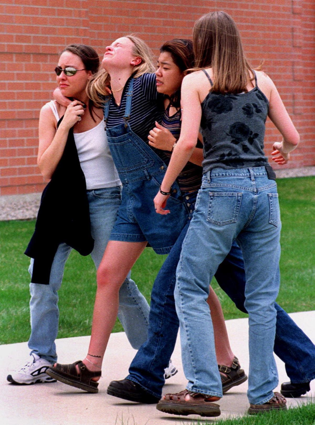 the events leading to the columbine school tragedy Students left their classrooms on the 19th anniversary of the columbine high  school shooting here's what they had to say about gun control and why they are .