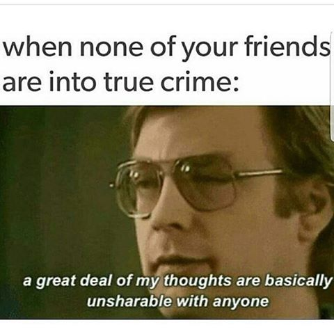 True Crime Meme