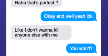 michelle-carter-conrad-roy-texts-19-375x195 A Disturbing Collection of Michelle Carter's Texts Encouraging Her Boyfriend To Commit Suicide
