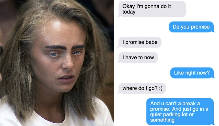 Michelle Carter Eyebrows >> A Disturbing Collection Of Michelle Carter S Texts