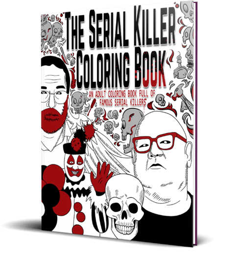 serial-killer-coloring-book 10 Christmas Gifts Every True Crime Junkie Would Kill For