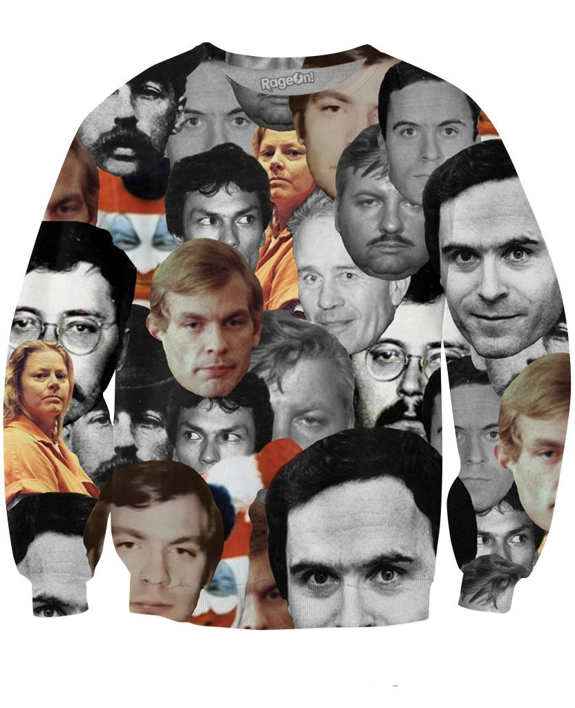 serial-killers-crewneck 10 Christmas Gifts Every True Crime Junkie Would Kill For