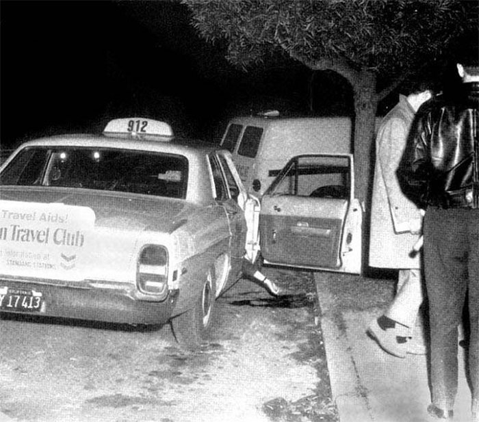 paul-stine-crime-scene-1 Following the Blood-Soaked Footsteps of the Zodiac Killer