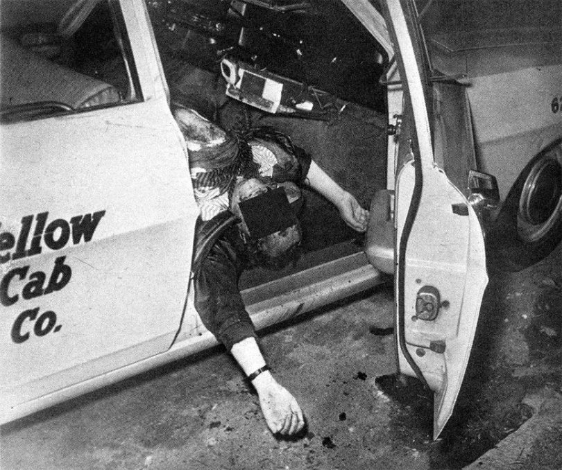 paul-stine-crime-scene-4-810x678 Following the Blood-Soaked Footsteps of the Zodiac Killer