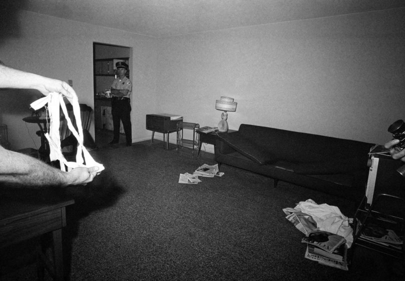 richard-speck-crime-scene-photo-8-810x562 Following the Blood-Soaked Footsteps of Richard Speck