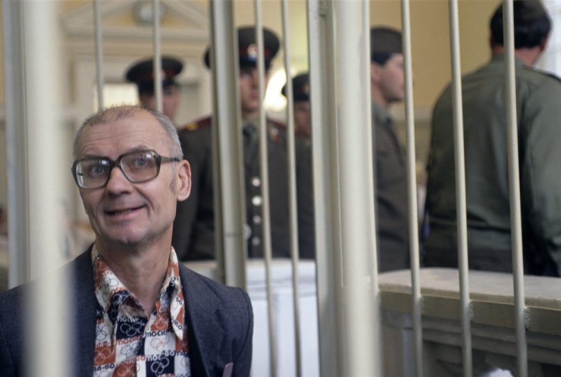 10 Never-Before-Seen Photos of Andrei Chikatilo's Trial